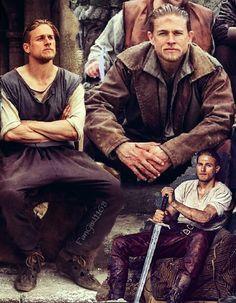 Charlie Hunnam from King Arthur