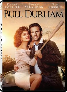 Bull Durham  starring Kevin Costner and Susan Sarandon only $2.99 on DVD right now #baseball