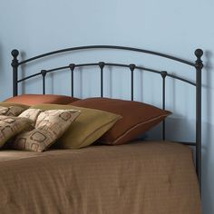 Sanford Queen Headboard, Black