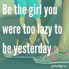 It starts TODAY! Commit and start becoming your best you!