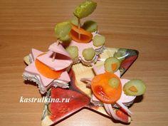 Детские бутерброды на 1 зубок - с мышкой и 2 кораблика, мастер класс