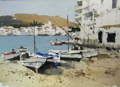 John Yardley watercolor