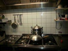 De keuken van de kookpraktijk