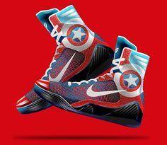separation shoes 10068 e8888 Nike Kobe 9 Elite  Marvel Avengers  Concept Basketball Shoes Kobe, Kobe  Shoes,