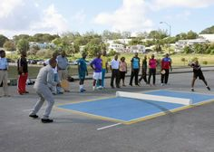Barbados host first ever regional road tennis clinic - http://www.barbadostoday.bb/2015/12/09/barbados-host-first-ever-regional-road-tennis-clinic/