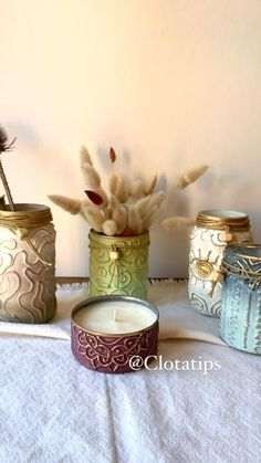 Diy And Crafts, Crafts For Kids, Arts And Crafts, Craft Gifts, Diy Gifts, Decoupage, Bottle Art, Diy Projects To Try, Diy Art