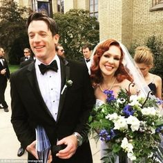Actress Erin Cummings tied the knot with the love of her life, Limitless star Tom Degnan.  On July 2, the 39-year-old Feed the Beast actress married her actor husband in a church ceremony at the University of Notre Dame.  According to People, the duo were the first celebrity couple to wed at the Basilica of the Sacred Heart, a Roman Catholic church on the educational institution's grounds.