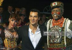 German actor Erol Sander accompanied by members of Starlight Express... News Photo   Getty Images