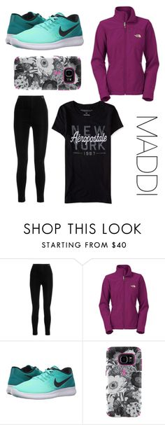 """""""Untitled #651"""" by cutesetsandmore ❤ liked on Polyvore featuring Balmain, The North Face, NIKE, Speck and Aéropostale"""