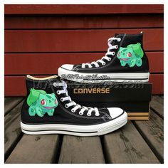 Cheap sneaker men, Buy Quality shoes dg directly from China shoes lether Suppliers: Pokemon Go Nidorino Converse All Star Design Custom Hand Painted Canvas Shoes Black Sneakers Black Converse Shoes, Black Chucks, Black High Top Converse, Converse All Star, Black Sneakers, Women's Converse, Custom Converse, Vans Shoes, Black Shoes