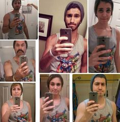 funny-selfie-family-imitating-brother-mother-sisters