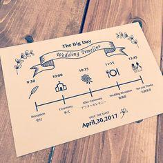 いいね!73件、コメント2件 ― yumi ⠒̫⃝さん(@y_u_m_i.wd0430)のInstagramアカウント: 「#結婚式招待状 にいれるタイムライン  *  * これは同じ会社の総務の子に作ってもらいました✌︎('ω'✌︎ )天才  *  * イラストのセレクトが神 印刷は業者に依頼❗️…」