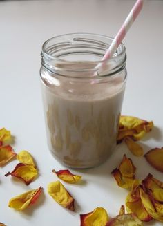 Mint chocolate shake, mmmm