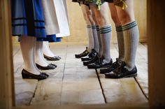 Tracht. Dancing feet. Repinned by www.mygrowingtraditions.com