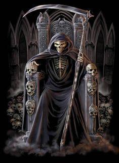 death grim reaper scythe