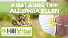 4 hatásos tipp allergia ellen - HillVital Facial, Personal Care, Youtube, Tips, Facial Care, Personal Hygiene, Face Care