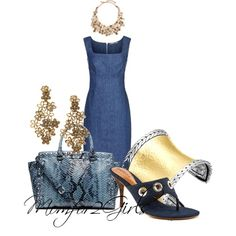 """""""My Tuesday Denim"""" by momfor2girls on Polyvore"""