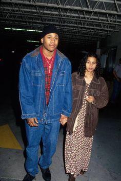 LL Cool J & Kidada Jones, 1994