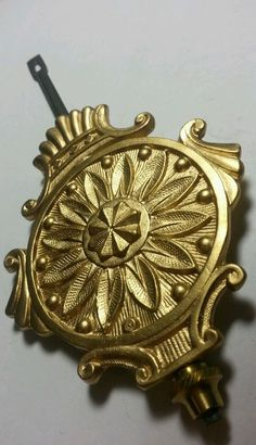 Universal  Vintage Mechanical Clock Pendulum Hook for Parts//Spares//Repairs