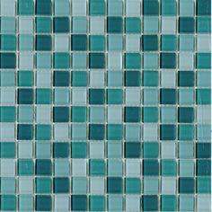 Halcon - mozaiki dekoracyjne VIDRIO Turquesa (30x30 plaster)