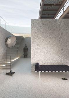 Onix Hex Eco Stones Series Floor Tile Part Of The Spain Quick Ship Collection Tileofspainusa