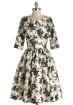 Posh at the Party Dress | Mod Retro Vintage Dresses | ModCloth.com