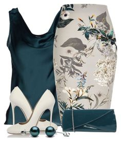 """Untitled #253"" by nezahat-kaya on Polyvore featuring Clips, River Island, Rodo and Dsquared2"