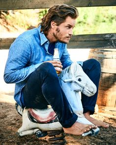 Travis Fimmel for Outside magazine by Jeff Lipsky