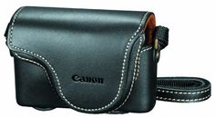 Canon PSC-910 Deluxe Leather Case for Powershot S90, S95, and S100 Digital Cameras (Black) ON SALE for $9.99 !