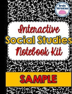 """The printables in this sample are perfect for the """"Reflection"""" side of your students' Social Studies Interactive Notebooks. They are very easy to incorporate into any lesson plan and can be used in most grade levels and topics of study (in Social Studies)."""