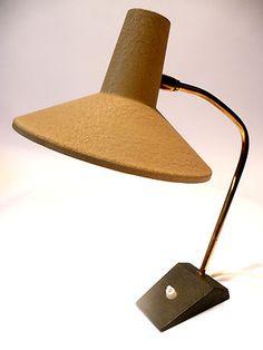 Vintage 1950s Table / Desk Lamp Stilnovo Mid Century Art Deco Italy 60s 70s Era