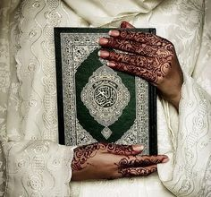Learn Quran Academy provide the Quran learning services at home. Our mission to teach Quran with proper Tajweed and Tafseer to worldwide Muslim community. Henna Mehndi, Henna Art, Henna Tattoos, Image Couple, Quran Sharif, Online Quran, Islamic Girl, Islamic Wallpaper, Learn Quran