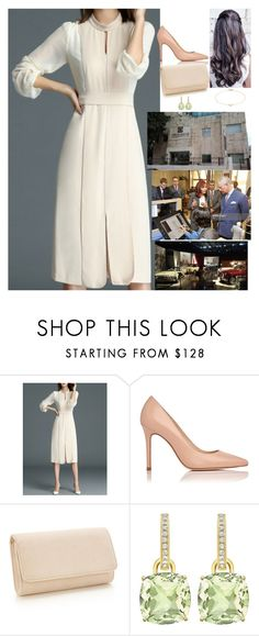 """""""Visiting the Rubicon Animation Studios, the Jordan National Gallery of fine arts in Amman, and the Royal Automobile Museum in Amman, Jordan, and flying to the Dead Sea"""" by fashion-royalty ❤ liked on Polyvore featuring Annoushka"""