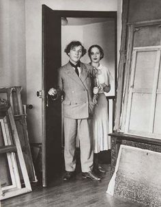 MARC CHAGALL and his muse and first wife BELLA ROSENFELD
