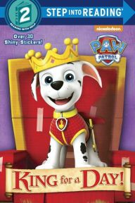 The pups from Nickelodeon's PAW Patrol are putting on a King Arthur play—if Marshall can save the day! Boys and girls ages 4 to 6 will love this Step 2 Step into Reading leveled reader.