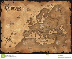thumbs.dreamstime.com z cru-horizontal-de-carte-de-l-europe-9046406.jpg