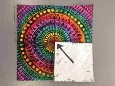 RADIAL SYMMETRY PRINTMAKING – 4TH GRADE – Art with Mrs Filmore