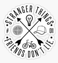 Pegatina Stranger Things