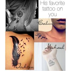 Luke, Ashton and Calum win! 5sos Tattoo, I Tattoo, 1d And 5sos, 5sos Ashton, Cute Tattoos, Tatoos, 5 Seconds Of Summer Imagines, 5sos Outfits, 5sos Preferences