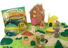Three Little Pigs Read, Listen & Play with Book & CD