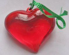 Red Heart Vintage Hallmark Ornament