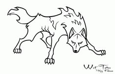 Wolf-dog template .free use. by Phycotic-Wolf on