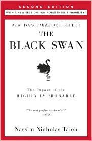 The Black Swan - Nassim Taleb:  definitely not the movie!  I read this while I was at jrtc.