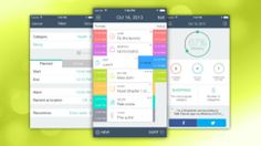 TIME Planner Manages Your Time in Simple List Structure