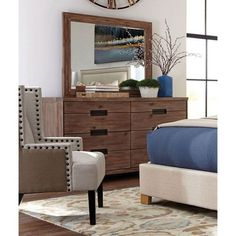 Madeleine Smoky Acacia Dresser From Donny Osmond Home