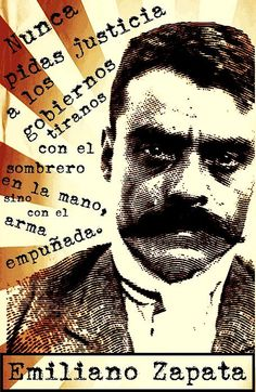 Zapatismo, Emiliano Zapata  http://michelle-wilmot.artistwebsites.com/featured/zapatismo-michelle-wilmot.html