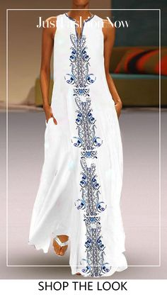 Awesome maxi dresses are offered on our website. look at this and you wont be sorry you did. Casual Dresses, Fashion Dresses, Dresses Dresses, Best Casual Outfits, Dress Vestidos, 1950s Dresses, Woman Dresses, Simple Dresses, Party Dresses
