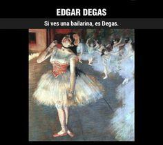 ¿Cómo reconocer a… Degas