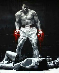 The greatest art of fighting, sports art, black art, muhammad ali boxing, b Boxing Training, Boxing Workout, Boxing Boxing, Boxing Club, Ufc, Boxe Fight, Boxe Mma, Foto Sport, Boxing Posters