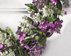 Decoratieve krans Romantische 40 cm - 7433647242206 - Avantius